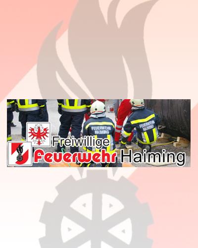 Freiwillige Feuerwehr Haiming, Roppen, Ötztal Bahnhof, Sautens und Jerzens