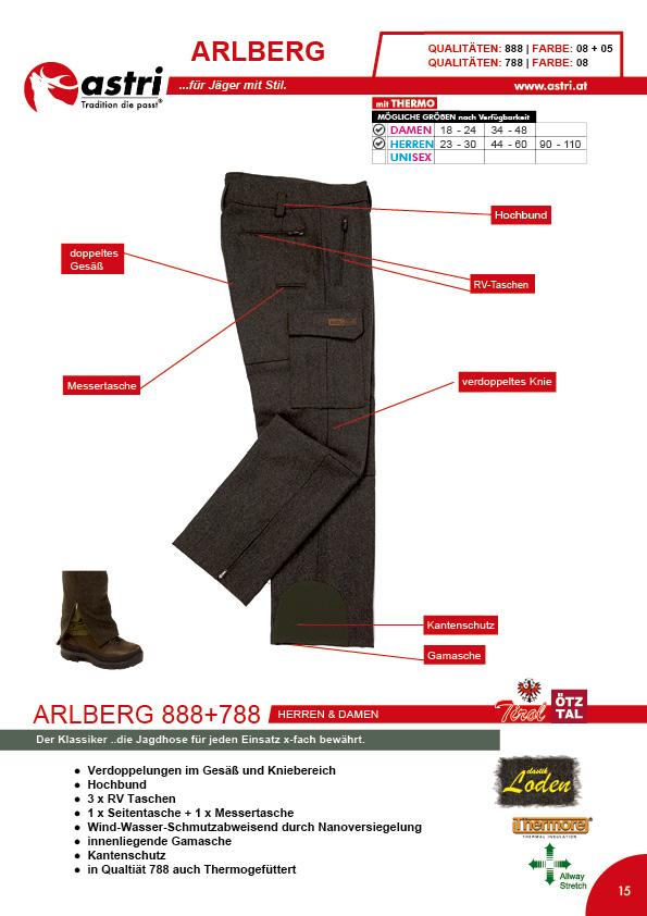 Astri - Produkte Jagd