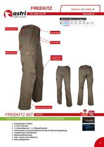 Astri - Produkte Jagd - Freekitz 607