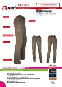 Astri - Produkte Jagd - Elster 607