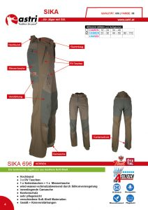 Astri - Produkte Jagd - Sika 696