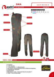 Astri - Produkte Jagd - Sika 888