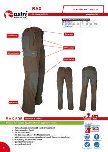 Astri - Produkte Jagd - Rax 696