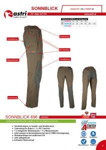 Astri - Produkte Jagd - Sonnblick 696